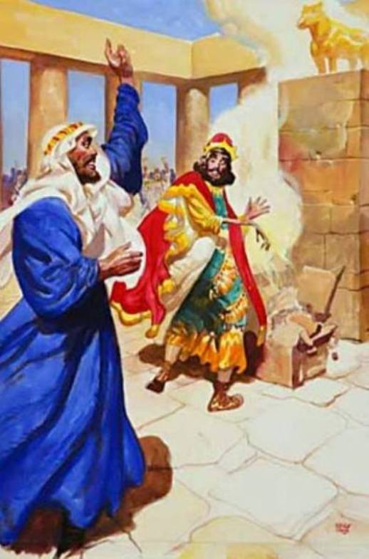 1 Kings 13 – A Prophet of Judah Warned King Jeroboam About His Sacrifices to Molded Calves