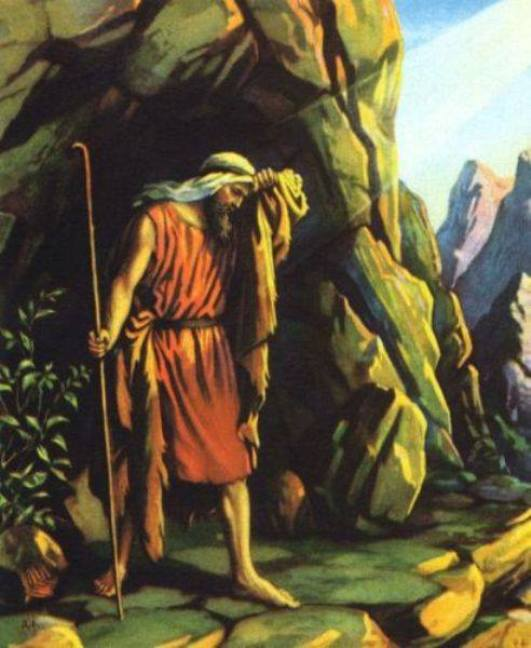 1 Kings 19 – Prophet Elijah Fled to Mount Horeb – He was Fed by An Angel and He Talked with God