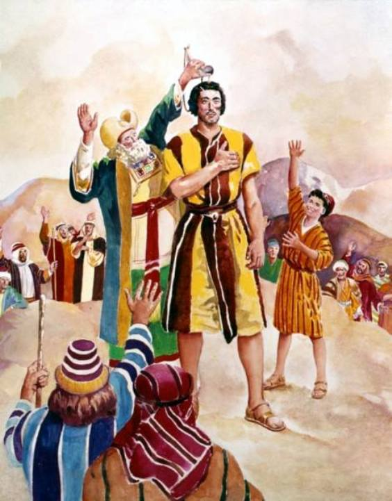 1 Samuel 10 – Prophet Samuel Anointed Saul As King of Israel
