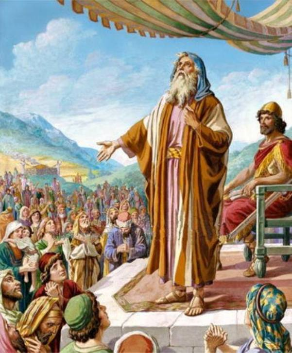 1 Samuel 12 - Prophet Samuel Gave A Speech to the People