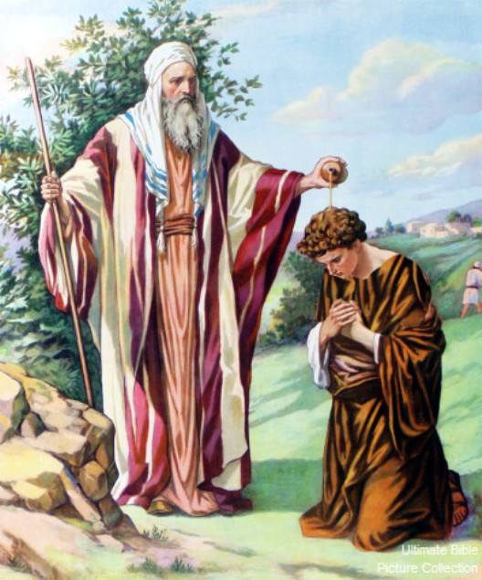 1 Samuel 16 – Prophet Samuel Anointed David As King of Israel