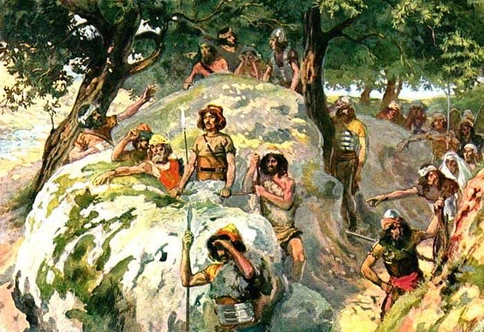 1 Samuel 23 – David Escaped to the Wilderness