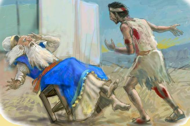 1 Samuel 4 - The Philistines Took the Ark of God, and Eli Died