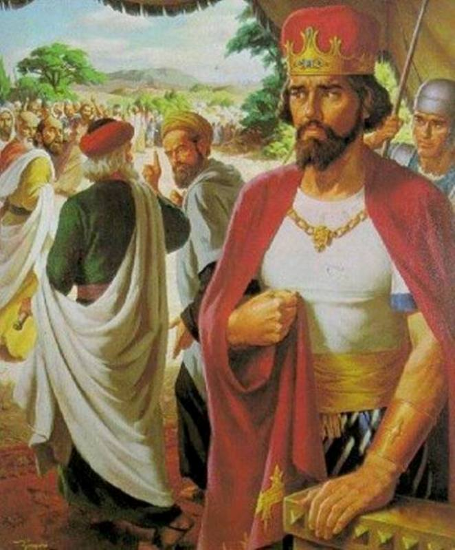 2 Chronicles 10: Rehoboam Was Made King After Solomon, But Jeroboam Took Over Israel Except for Judah and Benjamin.