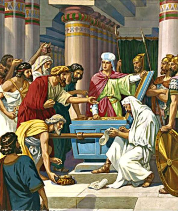 2 Chronicles 24 – King Joash Repaired the Temple of God