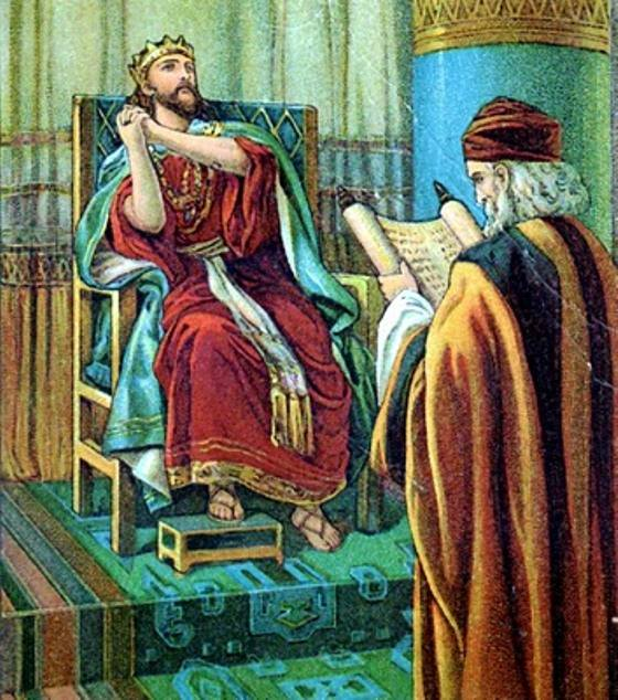 2 Chronicles 34 – Hilkiah the High Priest Found the Book of the Law, and Shaphan the Scribe Read it to King Josiah