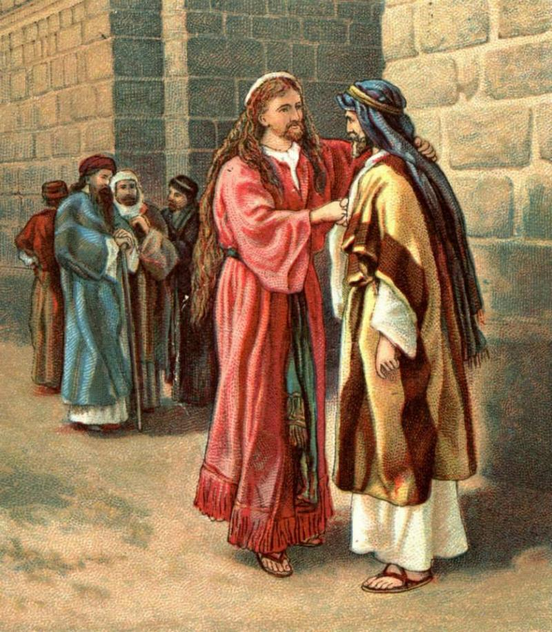 2 Samuel 15 - Absalom's Conspiracy and King David's Flight from Jerusalem.