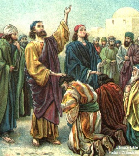 Acts 13 – Paul and Barnabas Were Sent to the Gentiles