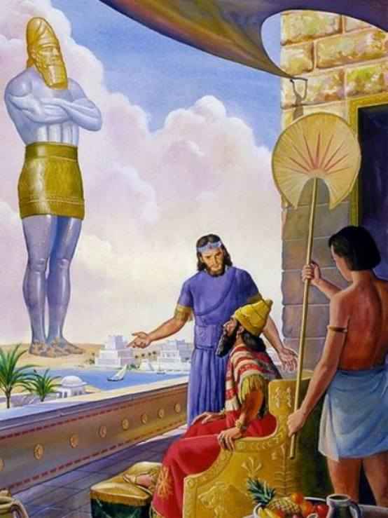 Daniel 2 – Daniel Explained the King's Dream After Receiving a Revelation from GOD