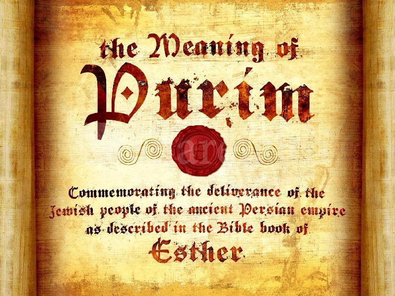 Esther 9 – The Jews Destroyed Their Enemies and Started the Festival of Purim