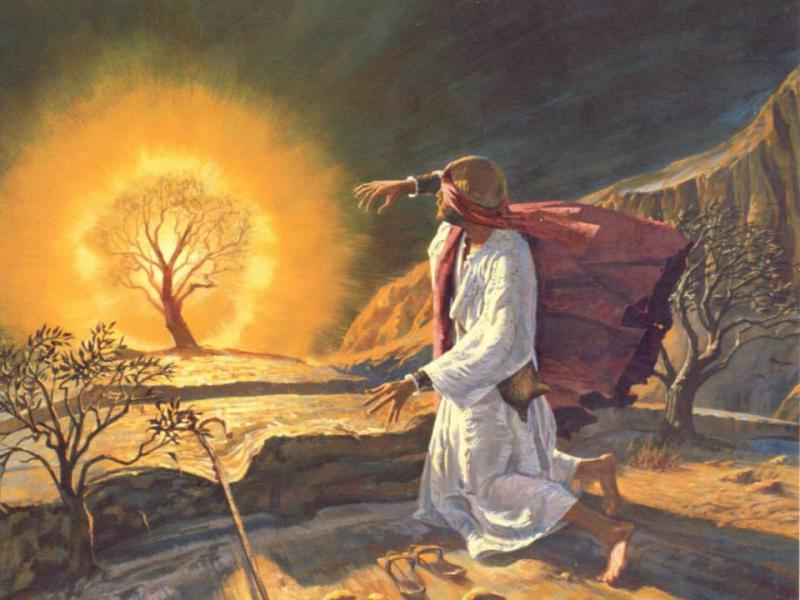 Exodus 3 – Moses at the Burning Bush
