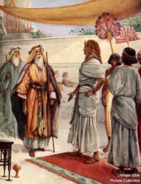 "Exodus 5: Moses and Aaron Went Before Pharaoh – The First Time Sharing GOD's Message – ""Let My People Go."""
