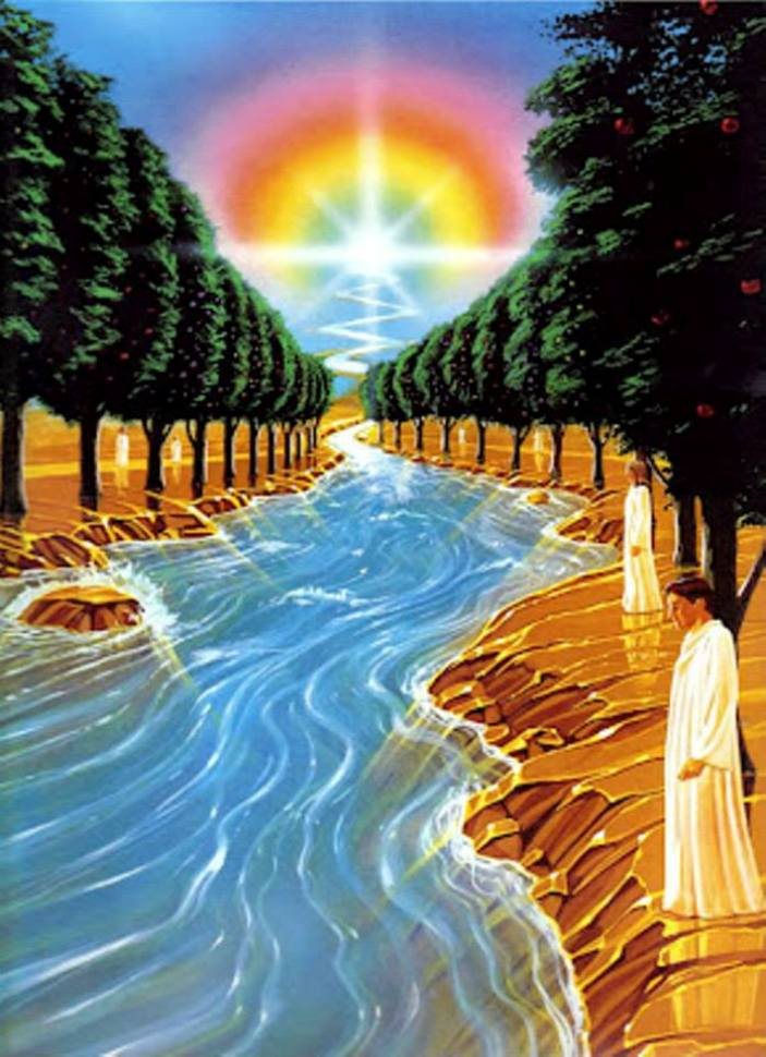 Ezekiel 47: The River of Life Flowing from the Temple of GOD.