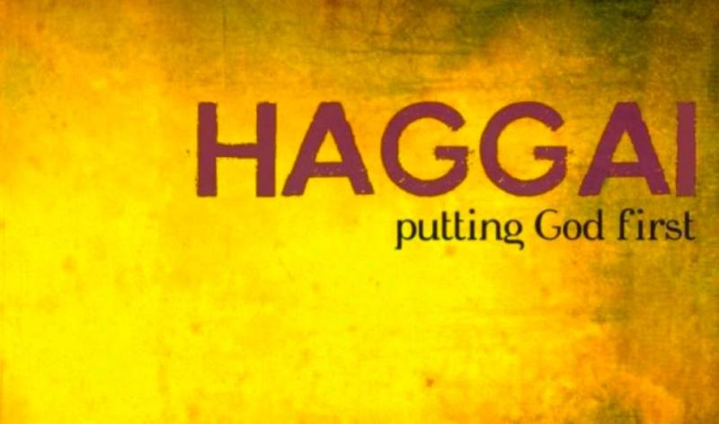 Haggai 1 – The Command to Rebuild GOD's House and the Temple of GOD