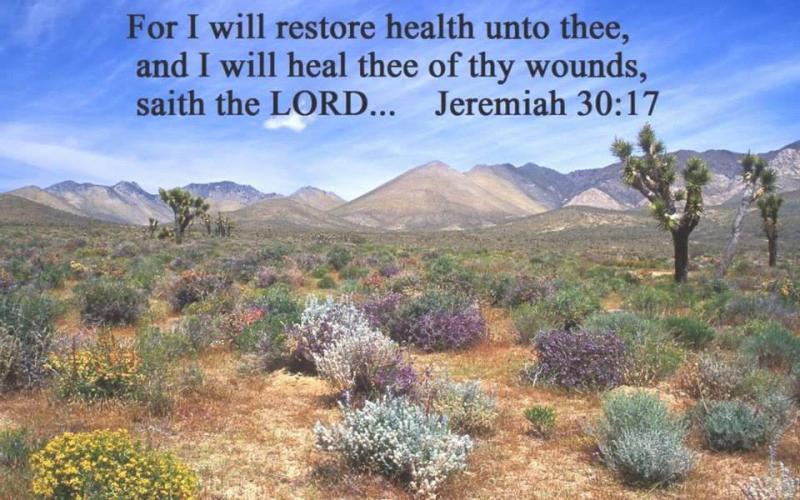 Jeremiah 30: The Promised Return of the Captives, and the Healing and Restoration of the People of GOD.