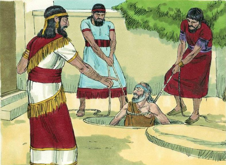 Jeremiah 38: Prophet Jeremiah Was Rescued from the Prison By Ebed-Melech, and King Zedekiah Sought Advice from Him.