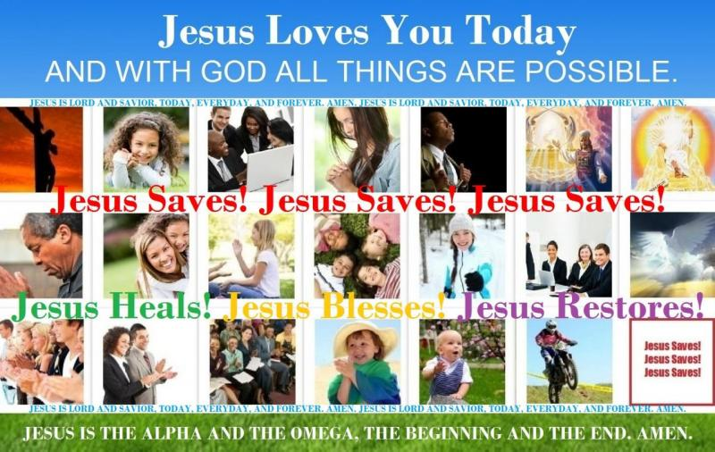 Jesus Loves You Today - Bible Study Discussions