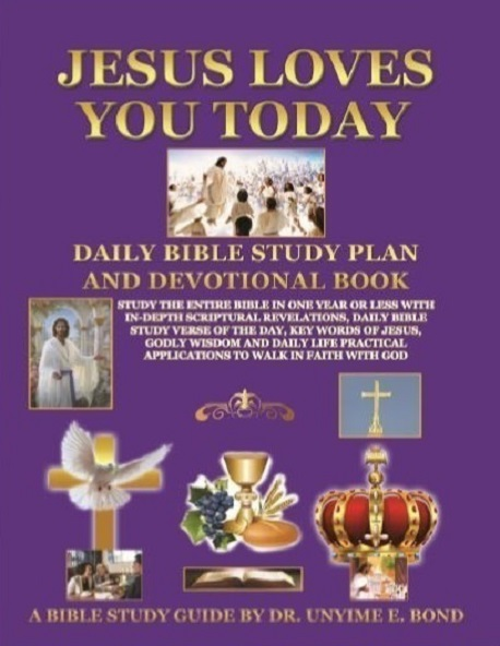Jesus Loves You Today Daily Bible Study and Devotional Book