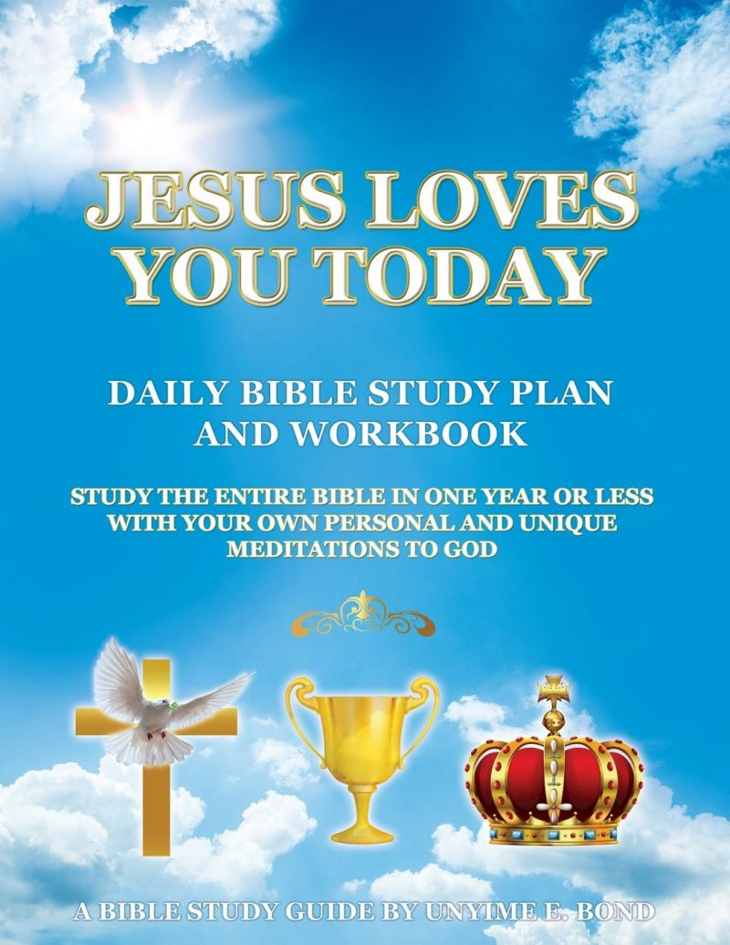 Jesus Loves You Today Daily Bible Study Plan and Workbook Cover
