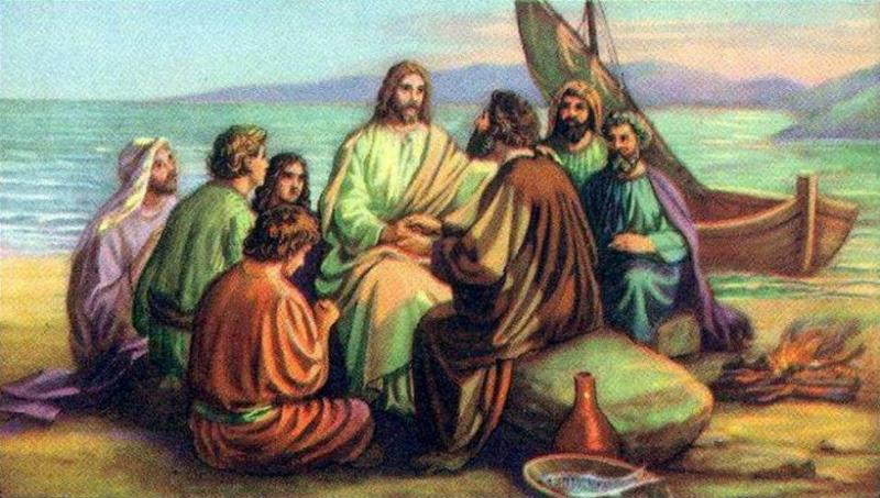 John 21 – The Breakfast with Jesus by the Sea
