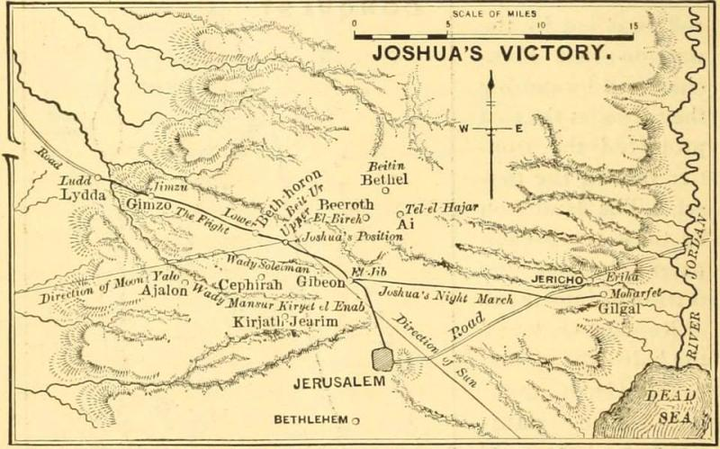 Joshua 11 – Joshua Conquered the Entire Land of Several Kingdoms