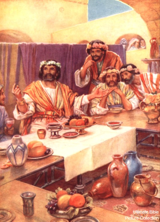 Judges 14: Samson's Feast and Riddle.
