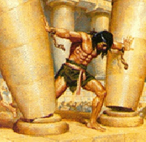 Judges 16 – Samson and Delilah, and the Event of Samson's Final Strength