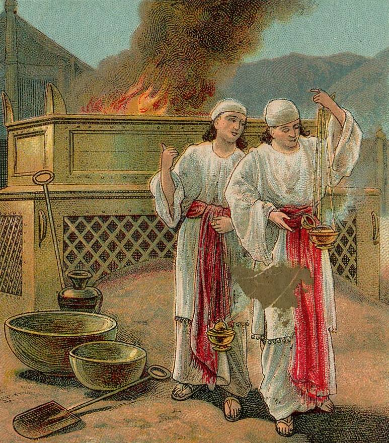 Leviticus 10 – The Conduct of the Priests – Nadab and Abihu Offered Profane Fire to God and Were Consumed by God