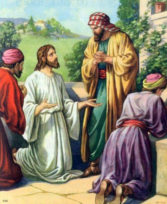 Luke 11a – Jesus Taught the Disciples How to Pray