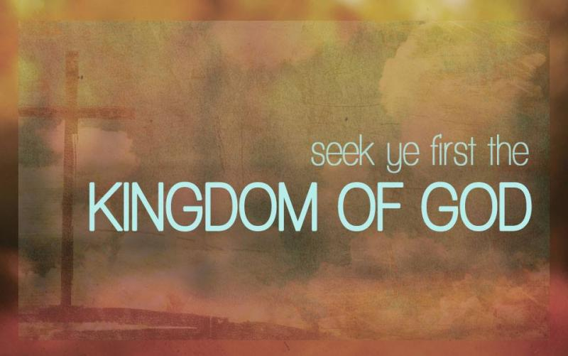 Luke 12d – Jesus Taught the Disciples Not to Worry But to Seek First the Kingdom of God