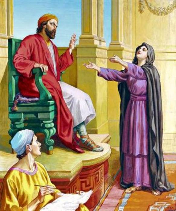 Luke 18 – Jesus Told the Parable of the Persistent Widow