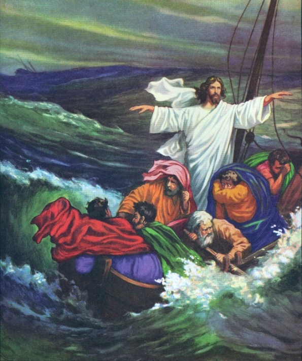 Luke 8e – Jesus Spoke and Calmed the Storm