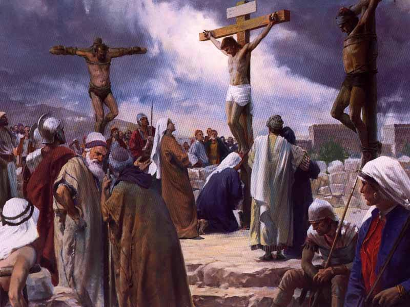 Mark 15b – Jesus Was Crucified