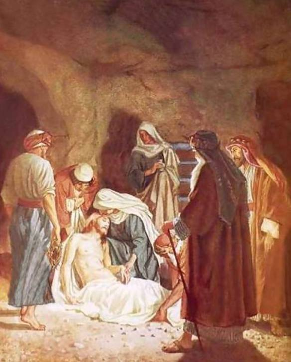 Mark 15c – Jesus Was Buried in the Tomb