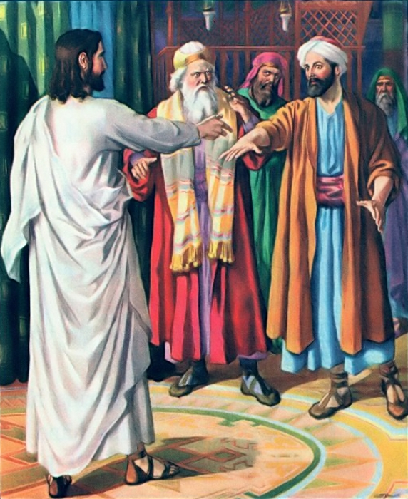 Mark 3a – Jesus Healed the Man with the Withered Hand