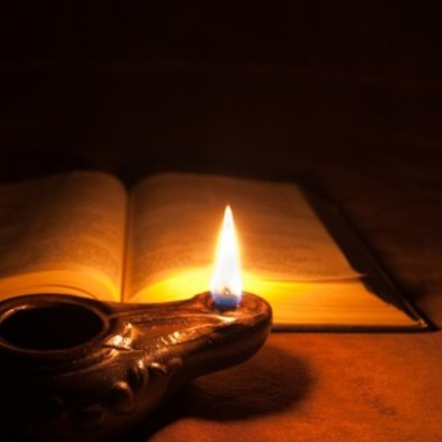 Mark 4b – Jesus Told the Parable of the Lamp