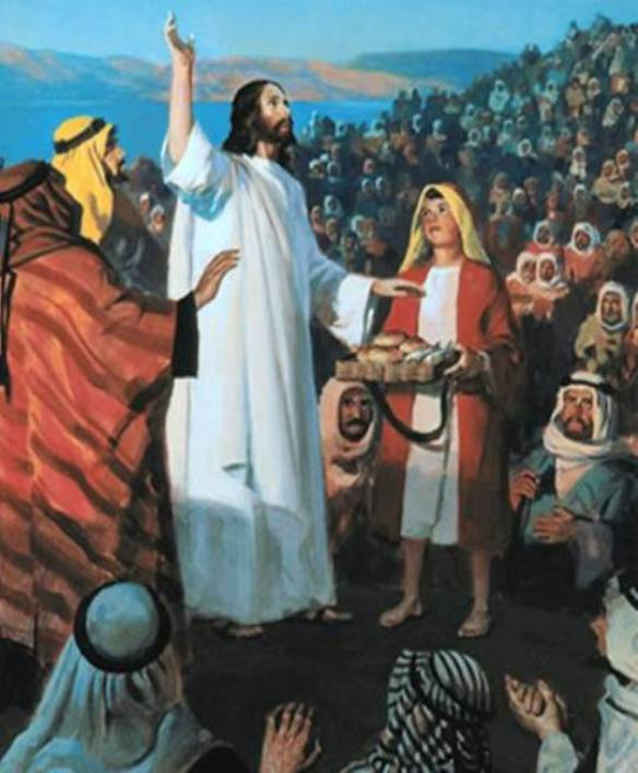 Matthew 15: Jesus Explained the Difference Between GOD's Commandments and Men's Traditions, and Jesus Fed Four Thousand Men.