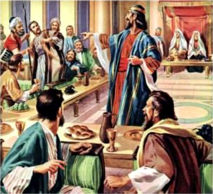 Matthew 22: Jesus Told the Parable of the Marriage of the King's Son, Jesus Preached on the Resurrection, the Greatest Commandment, and on the Prophecy about The Christ.