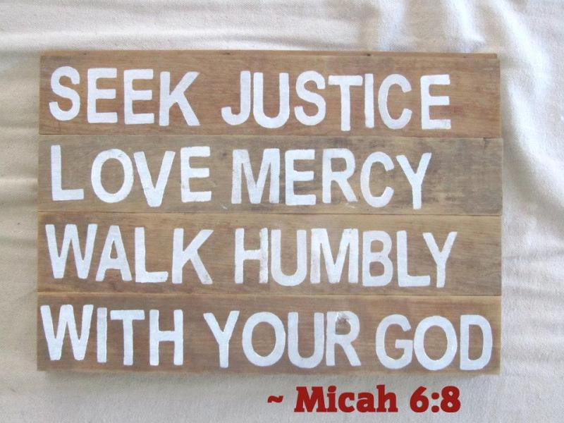 Micah 6 – GOD's Pleadings with Israel and GOD's Call to All People to Seek Justice, Love Mercy, and to Walk Humbly With GOD